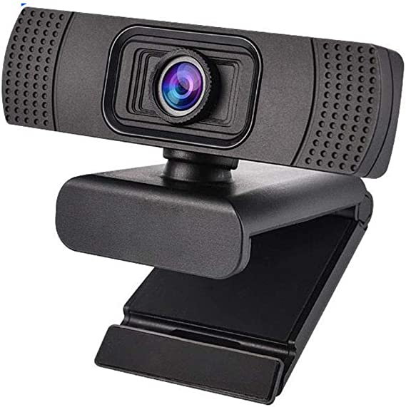 JMSUN HD Webcam 1080P Streaming Web Camera with Dual Microphones