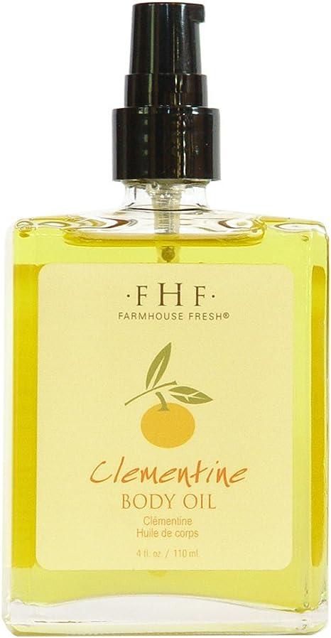 Farmhouse Fresh Clementine Body Oil 110ml 4oz Amazon Ca Beauty