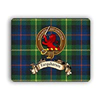 Farquharson Scottish Clan Tartan Crest Computer Mouse Pad