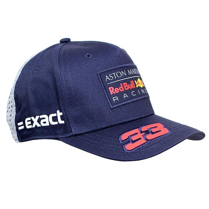 Aston Martin Red Bull Racing F1TM Max Verstappen Baseball Cap 2018   Amazon.co.uk  Clothing b0e6e67541f