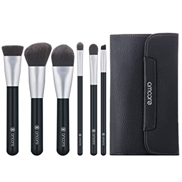 Amoore 6 Stück Make Up Pinselsets Make Up Pinsel Mit Tasche