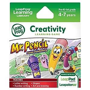 Leapfrog Leapster Explorer - Juego Sr. Lápiz para aprender a escribir (solo para Leapster Explorer)