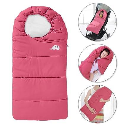 Saco de dormir bebé invierno gigoteuses nido de ángel recién nacido bolsa saco cochecito Wrap emmailloter