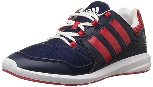 low cost 068b0 a05f9 Adidas Performance Boys s-Flex k Running Shoe, Collegiate NavyRay Red