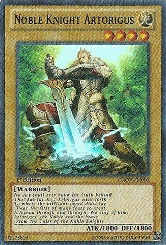 Yu-Gi-Oh! - Noble Knight Artorigus (GAOV-EN000) - Galactic Overlord - Unlimited Edition - Super Rare