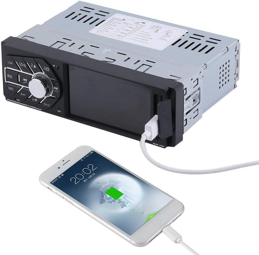 JUST SOUND best choice for caraudio Android Multicolor Einbauset f/ür Mercedes W124 MP3 Autoradio Radio JVC KD-R992BT Bluetooth Einbauzubeh/ör USB