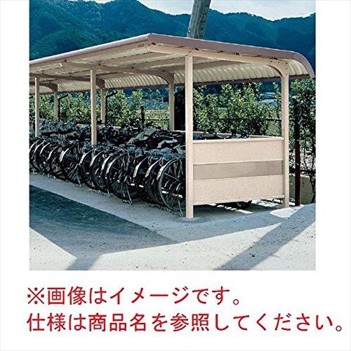 自転車置き場 ヨド物置 YOKRS-280 Hタイプ 追加棟(追加棟施工には基本棟の別途購入が必要です) 『公共用 サイクルポート 屋根』 ブラウニー   B00RXIZGRO