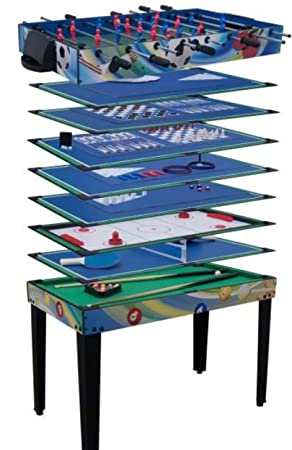 Playland 14 In 1 Multi Game Table Billiards Table Tennis Chess