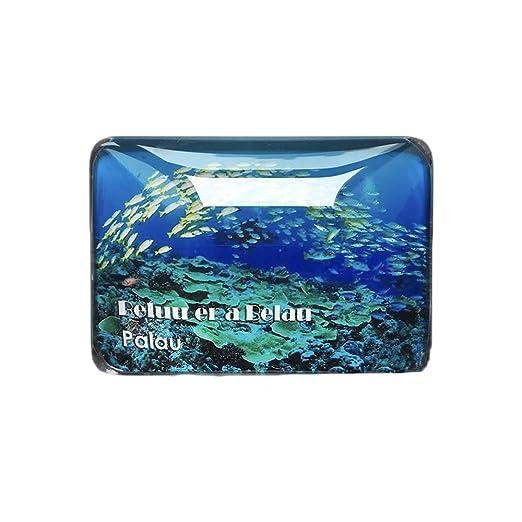 Palau Coral 3D Refrigerador Imán de Nevera Cristal de Cristal ...