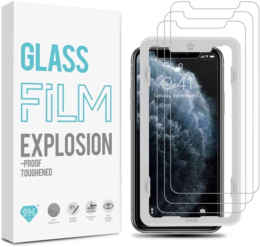 iPhone 11 Glass Film Explosion Proof Screen Protector for iPhone XR 2 Pack