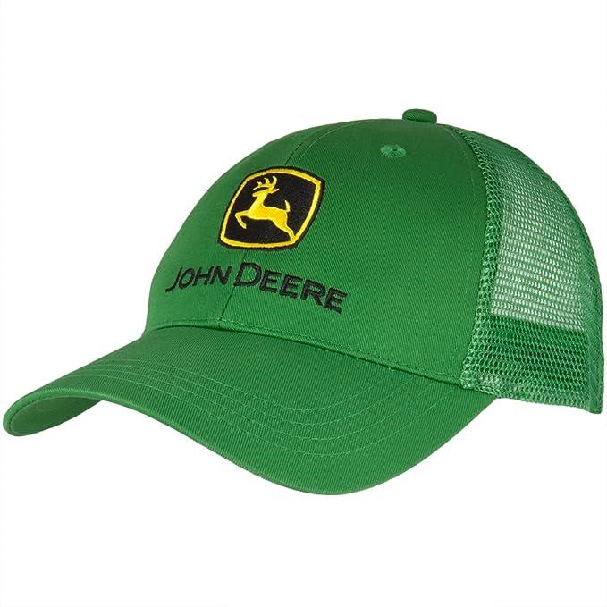 John Deere - Gorra de béisbol - Hombre Verde Verde Talla única  Amazon.es   Ropa y accesorios d388d0edda8