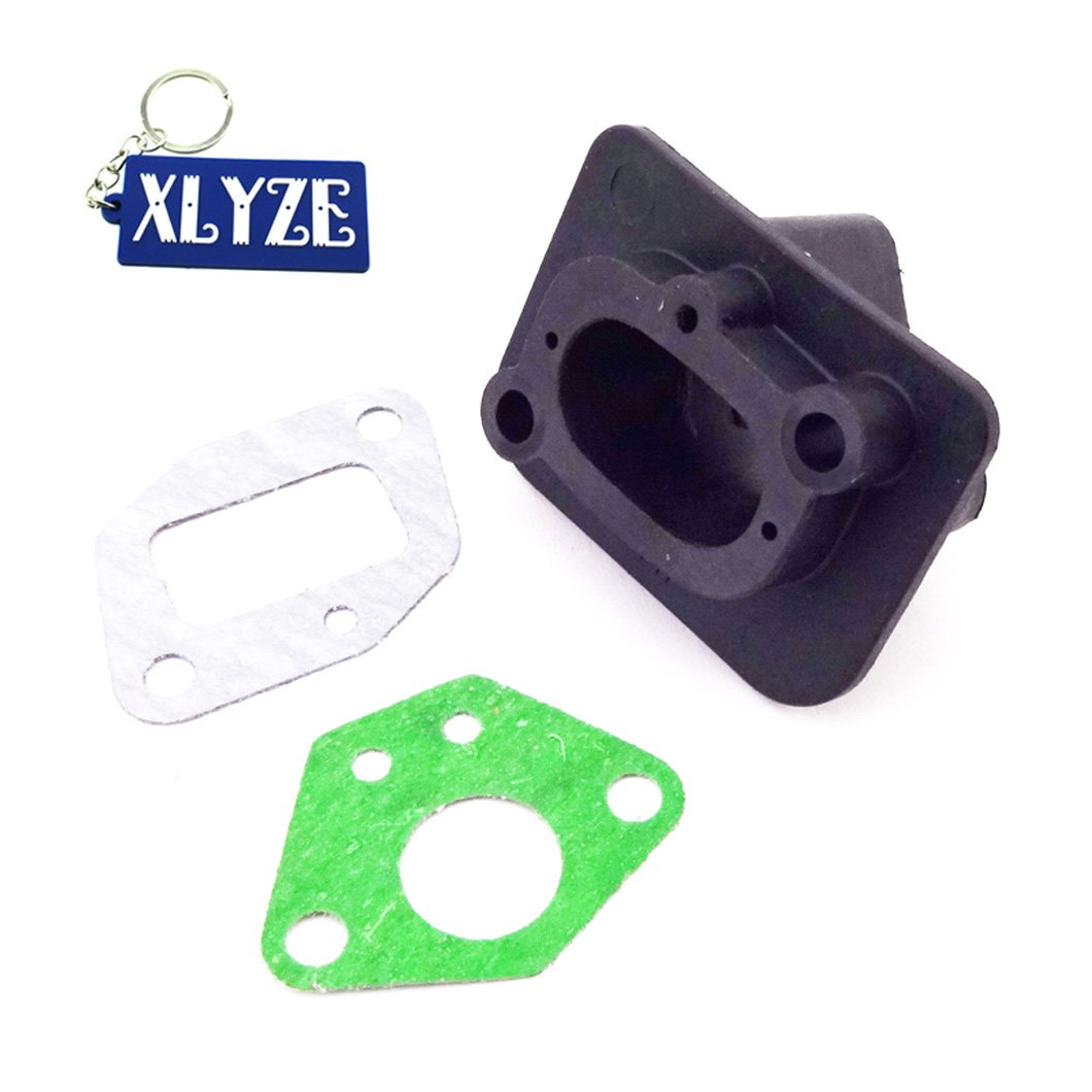 XLYZE Intake Inlet Manifold Gaskets for 33cc 43cc 49cc Goped Scooter Cat Eye Pocket Bike Kids Moto