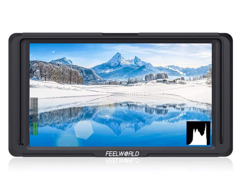 第一ネット 【正規品&一年間保証 HDMI&日本語設定可能 4K】FEELWORLD F5 4K HDMI IPS 1920x1080高解像度オンカメラフィールドモニタ- B07JG9LWF2 5インチ ヒストグラム フォーカスアシスト 偽色 ゼブラ暴露 DSLRカメラのピクセル チェックフィールド B07JG9LWF2, フジハラマチ:46f94fe1 --- obara-daijiro.com