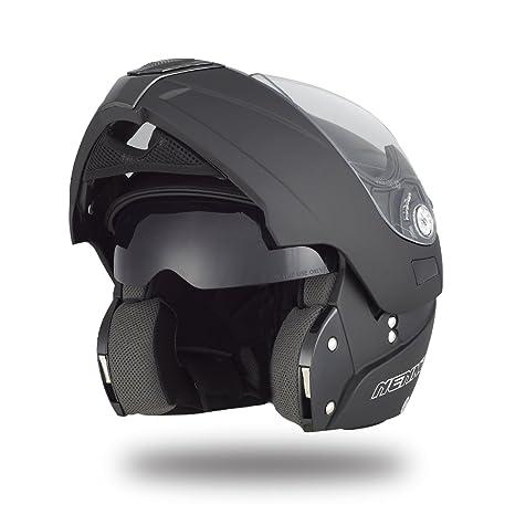 51fee8ab46cc0 Amazon.es  NENKI NK-839 Casco Modular de Moto(Talla XS)