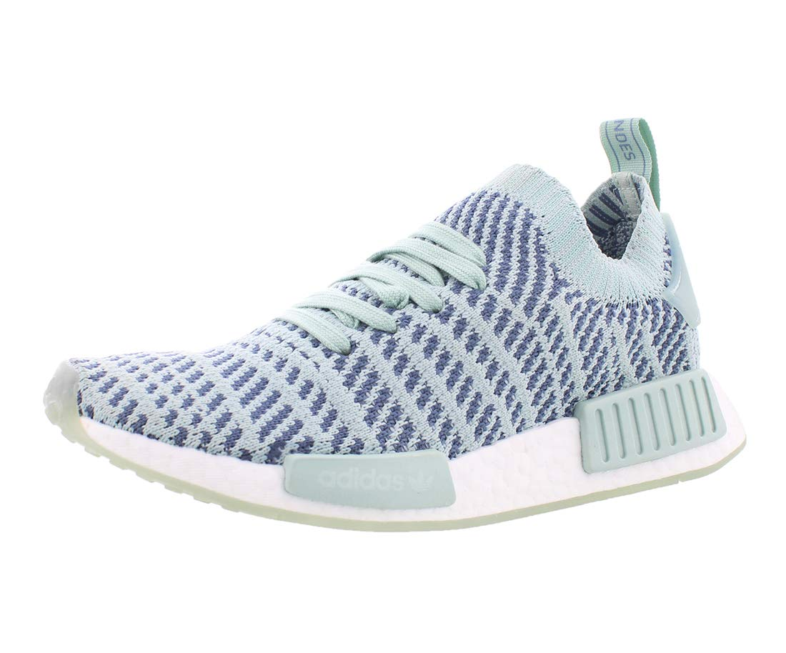 best deals on c98bf ef1e7 adidas Women's NMD_R1 STLT Primeknit Originals Running Shoe 9 Green