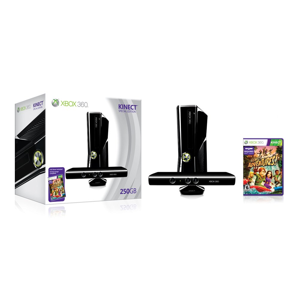 Xbox 360 250GB Console with Kinect by Microsoft (Image #4)