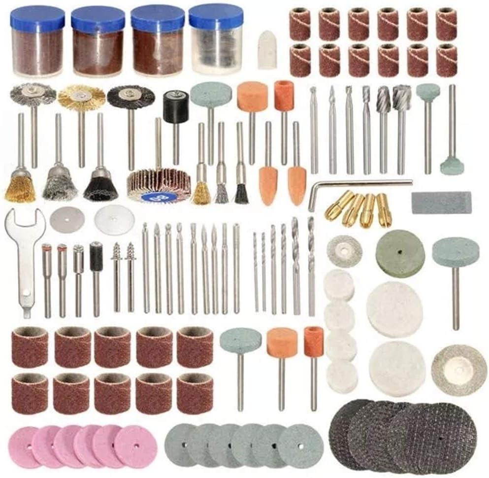 CHUNSHENN Durable 166pcs 1//8 Inch Shank Rotary Tool Accessories Set Polshing Tool Grinding Brush Polishing Wheel Industrial Tools