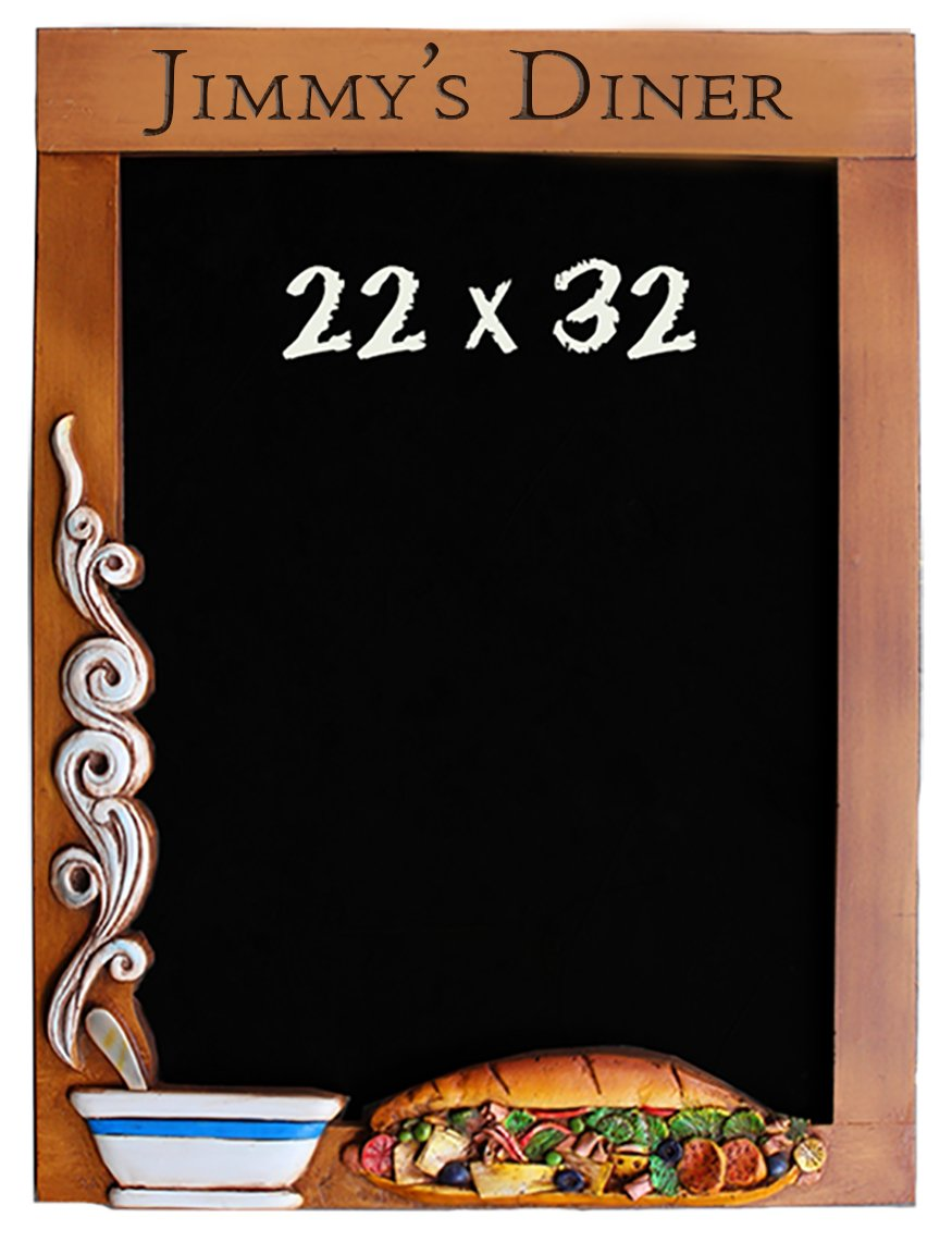Chalkboard Soup and Sandwich Personalized for Kitchens and Restaurants