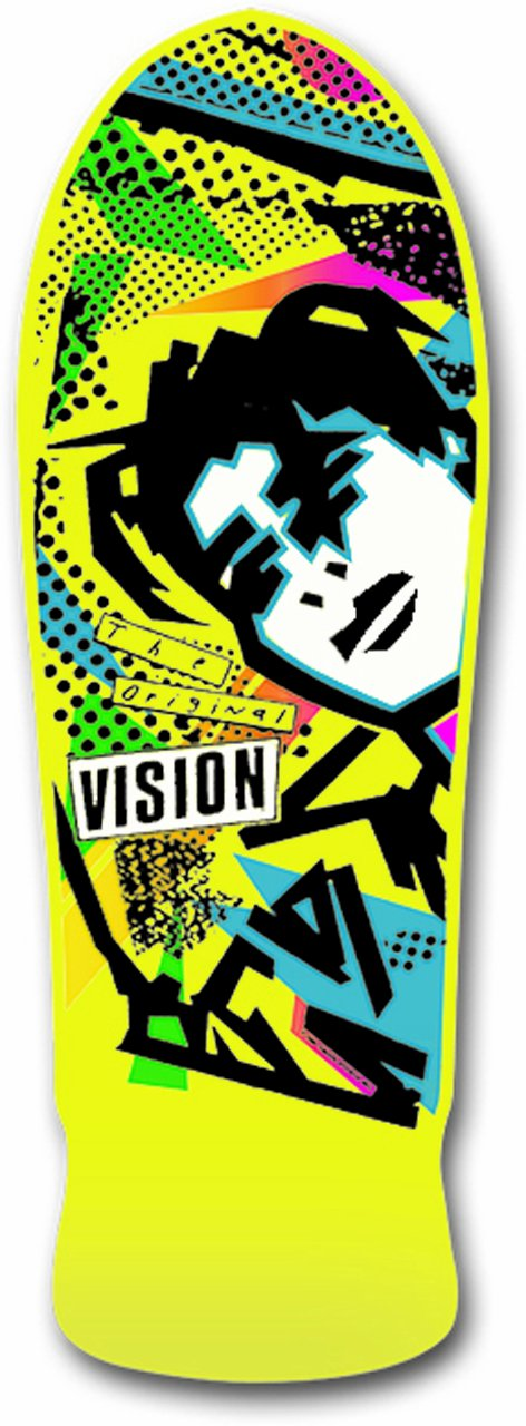 Mark Gonzales Skateboard Deck