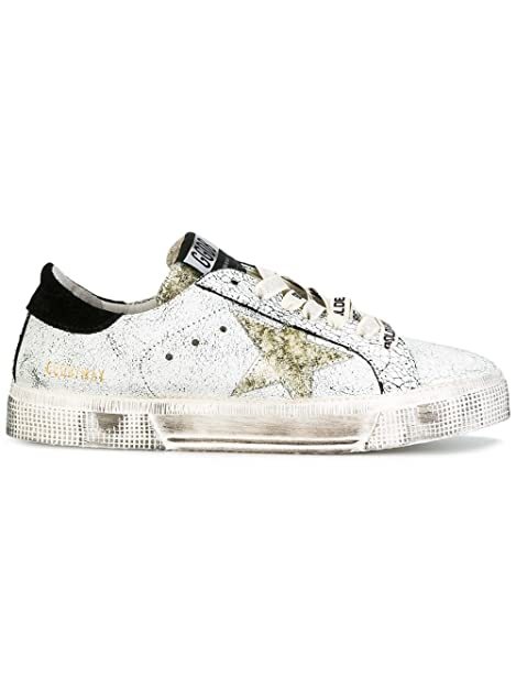 Golden Goose - Zapatillas para Mujer Plateado/Oro IT - Marke Größe, Color, Talla 38 IT - Marke Größe 38: Amazon.es: Zapatos y complementos