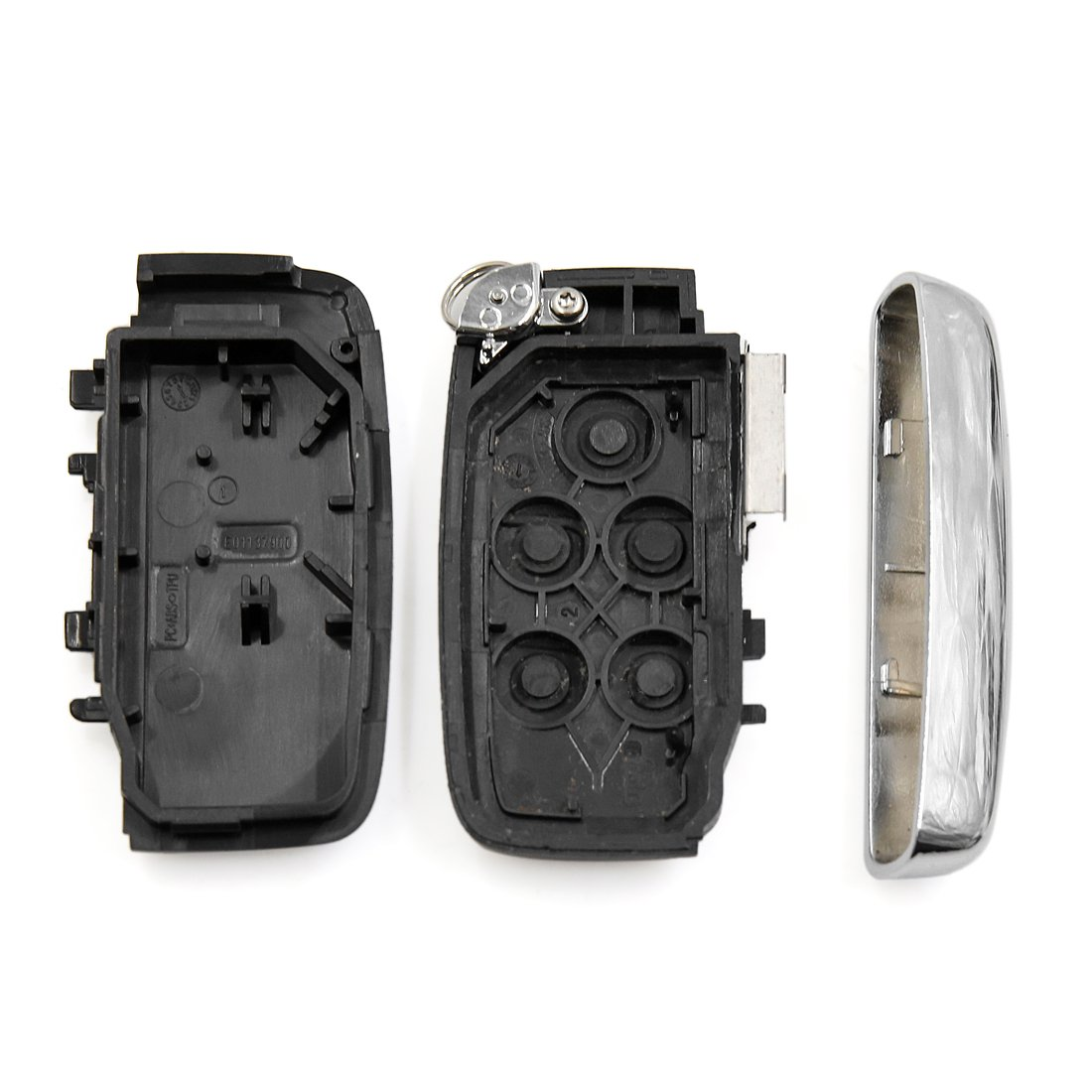 uxcell New 5 Buttons Key Fob Remote Control Case Shell Replacement KOBJTF10A for Range Rover Discovery 4