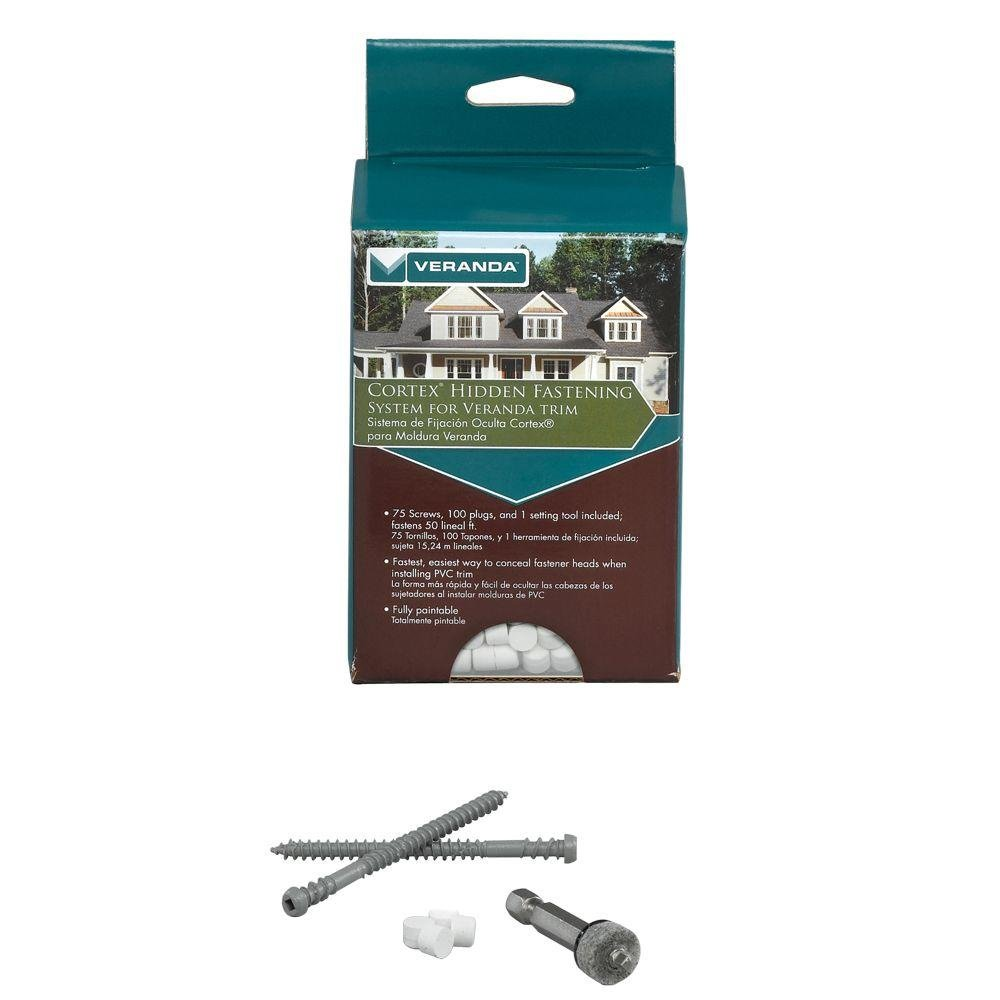 Amazon.com: Veranda Cortex Hidden Fastening System for Trim: Home & Kitchen