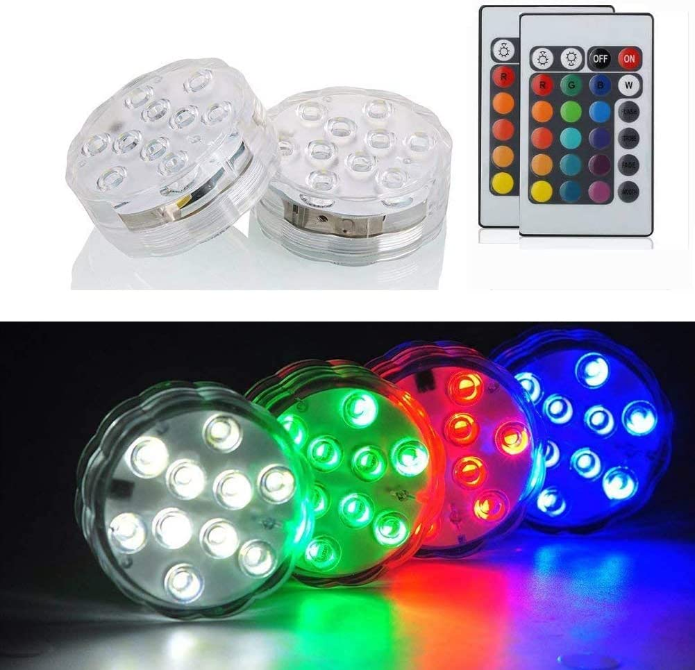 Free Amazon Promo Code 2020 for Led Submersible Lights with IR Remote