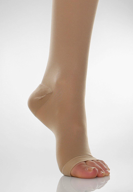 280 denier open-toe firm support tights 22-27 mmHg Relaxsan Basic 980A