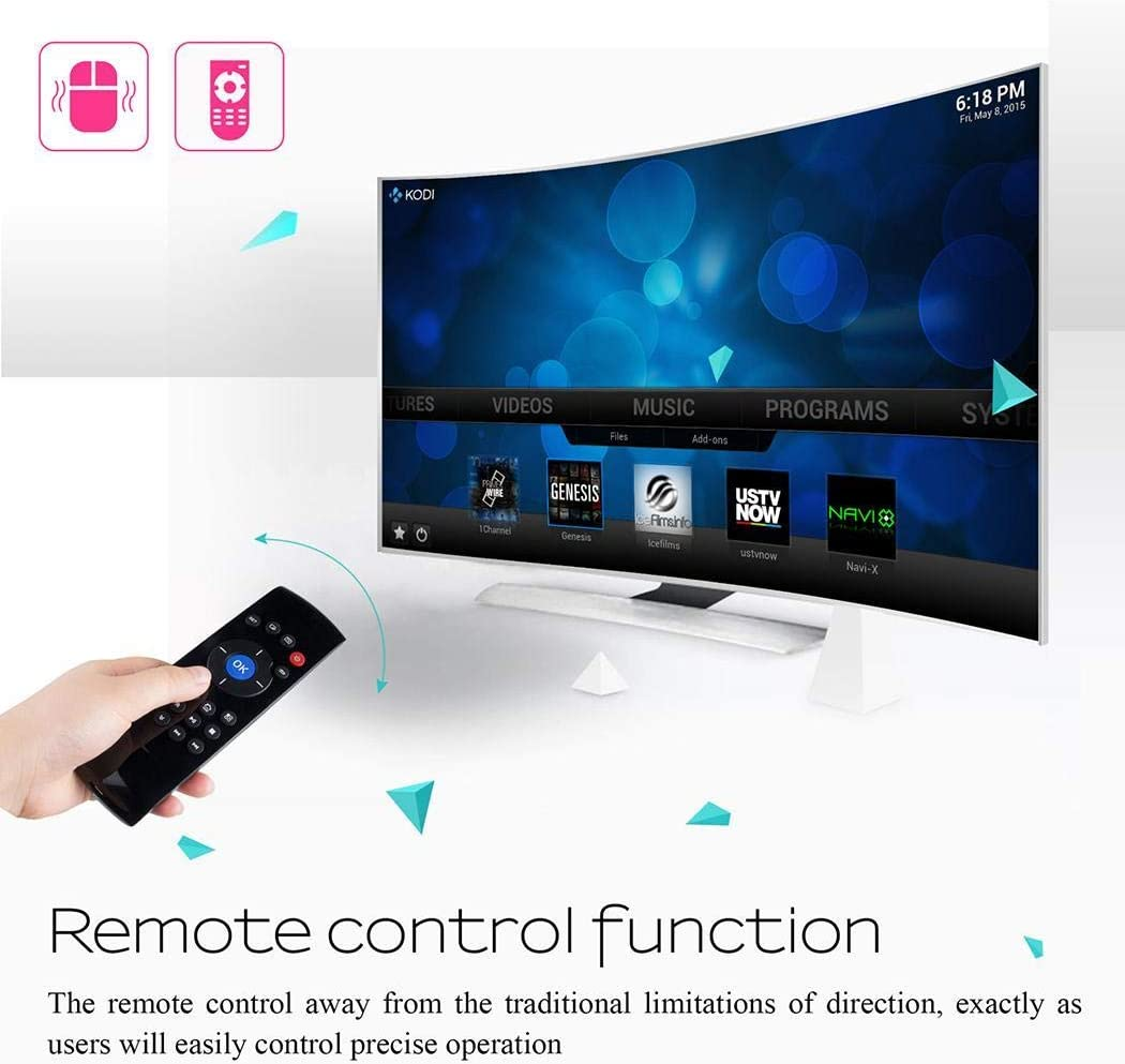 Miseku USB 2.4G Wireless Mouse Keyboard Mini Remote Control Lithium Battery Infrared Function Keyboard /& Mouse Combos