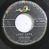 Lloyd Price 45 RPM Lady Luck / Never Let Me Go
