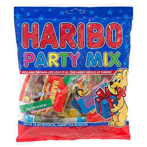 Haribo Party mix flavor fruit 200g.