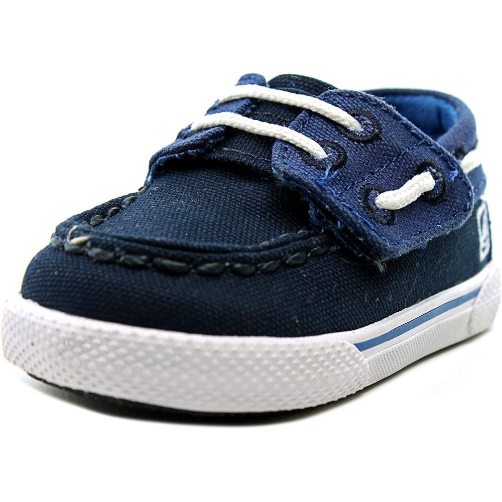 Sperry Top-Sider Halyard Boat Shoe (Toddler/Little Kid/Big Kid), Blue/Cobalt Blue, 2 M US Toddler