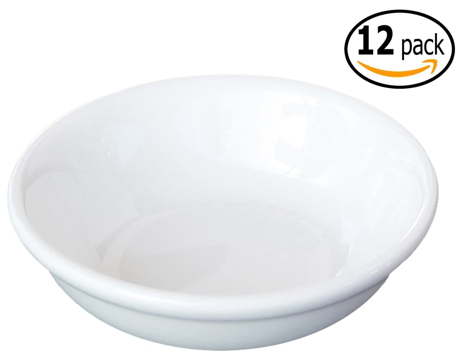 Ceramic Side Sauce Dish, 3-Inch, 2-Ounce, Set of 12 M.V. Trading FBA_201-31