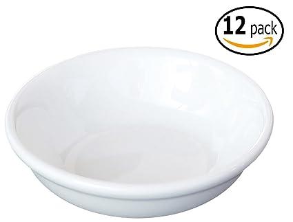Amazoncom Ceramic Side Sauce Dish 3 Inch 2 Ounce Set Of 12