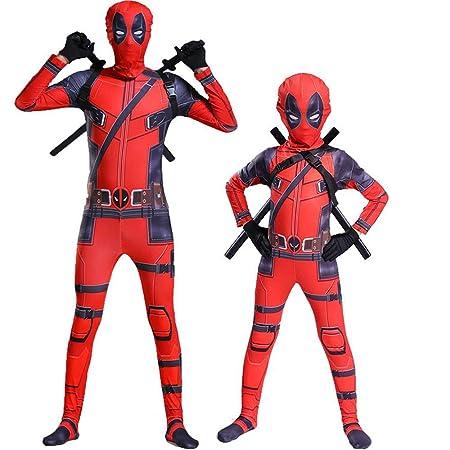 Deadpool Disfraz Cosplay Medias Ropa Navidad Halloween ...