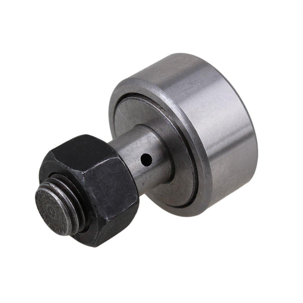 CNBTR KR30 Cam Follower Stud Type Needle Roller Bearing M12 Thread Type Bearings 30mm Dia Rod yqltd