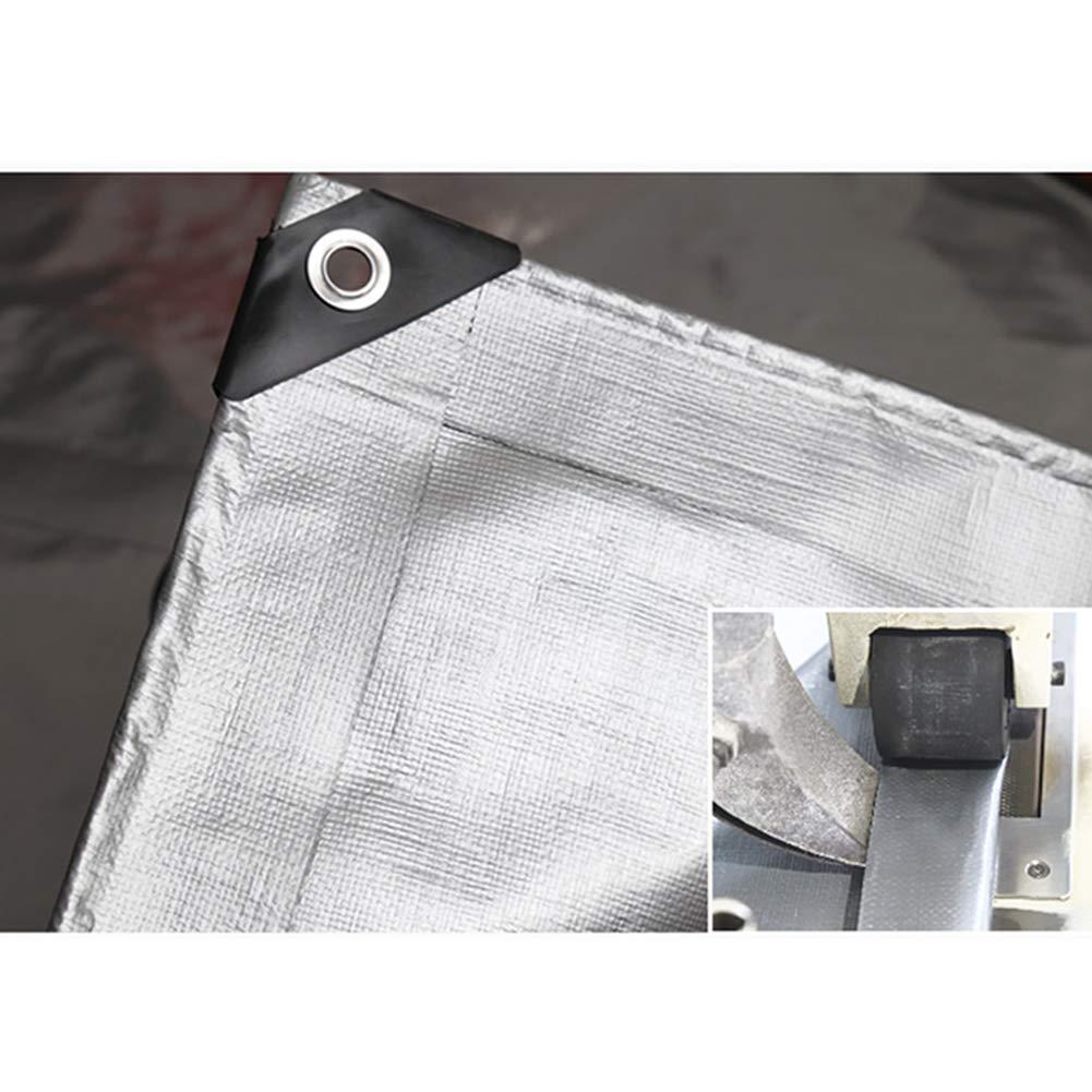 Toldo Lona Cobertizo Impermeable Espesar Recubierto de Plata Protector Solar Ligero Sombra De Sombra-Espesar Exterior