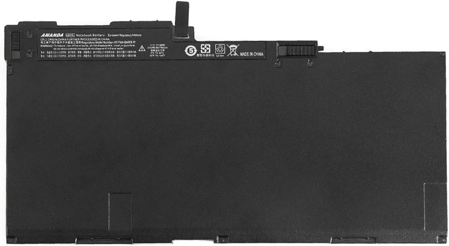 Amanda CM03XL Battery 11.1V 50WH Replacement for HP EliteBook 840 845 850 740 745 750 G1 G2 Series CM03 CO06 CO06XL CM03050XL CM03050XL-PL 716724-421 717376-001 HSTNN-IB4R HSTNN-LB4R