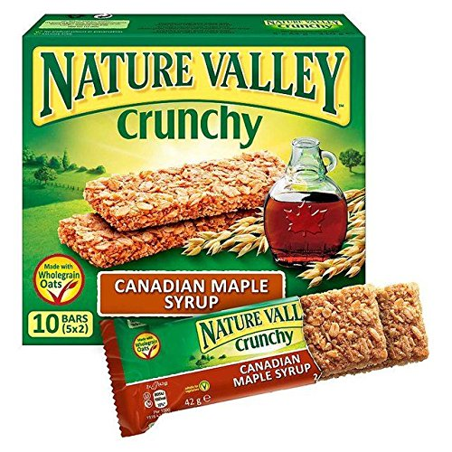 5325 Chocolate (Nature Valley Maple Syrup Granola Bars - 5 x 42g)