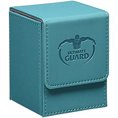 Ultimate Guard Xenoskin 100+ Flip Deck Case, Petrol: Toys & Games