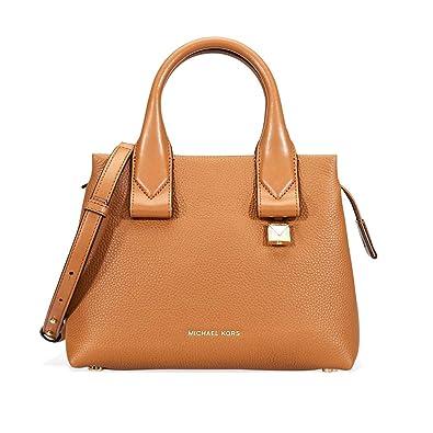 62d21fc1a855 MICHAEL Michael Kors Rollins Small Leather Satchel Bag