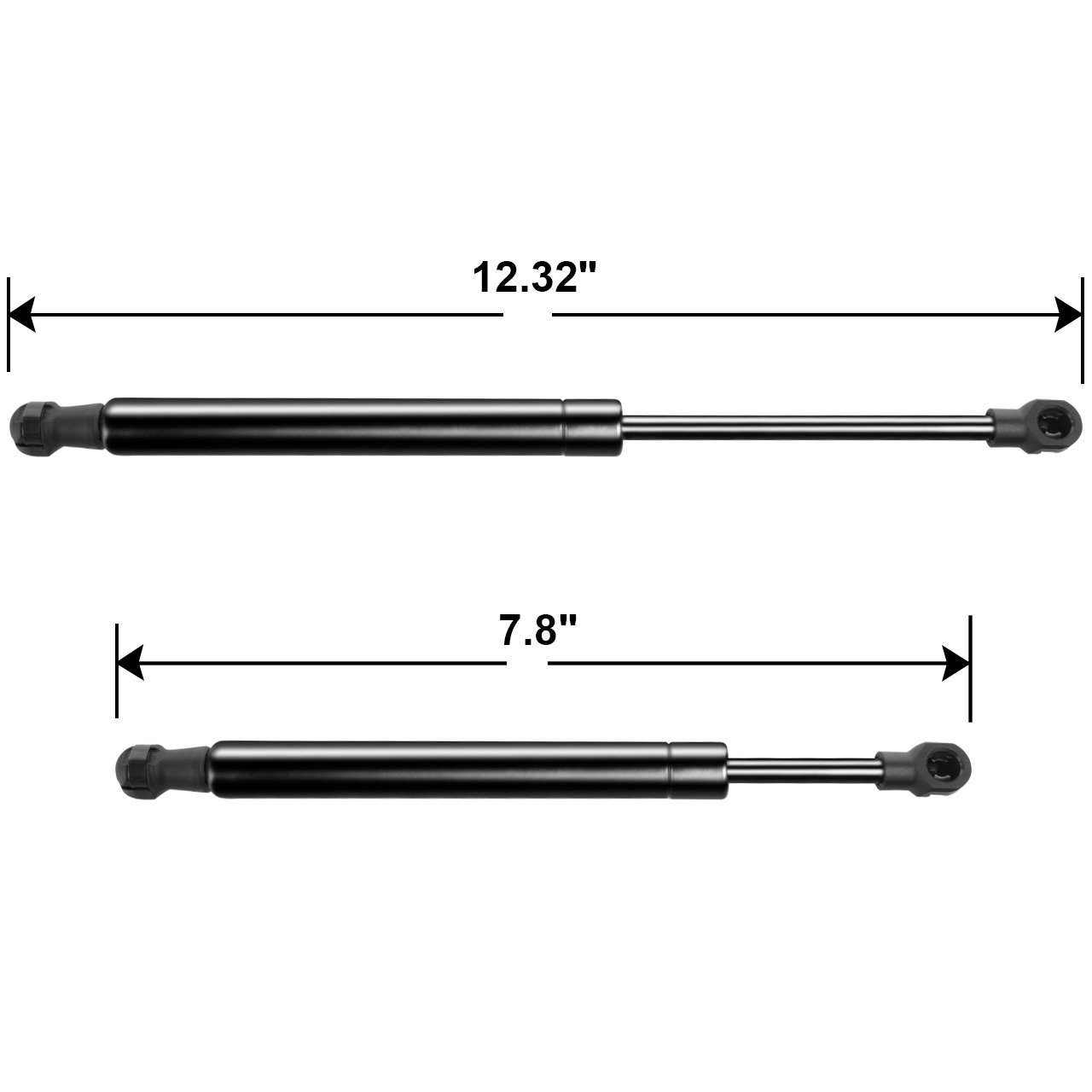 DEDC Pair Hood Lift Support for Ford Crown Victoria 98-11 SG404024