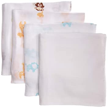 909c1b3141 Buy Aden + Anais Muslin Swaddle Blanket Safari Friends (4 Pack) Online at  Low Prices in India - Amazon.in
