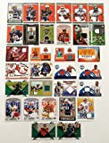 NFL Football Card Relic Game Used Jersey Autograph