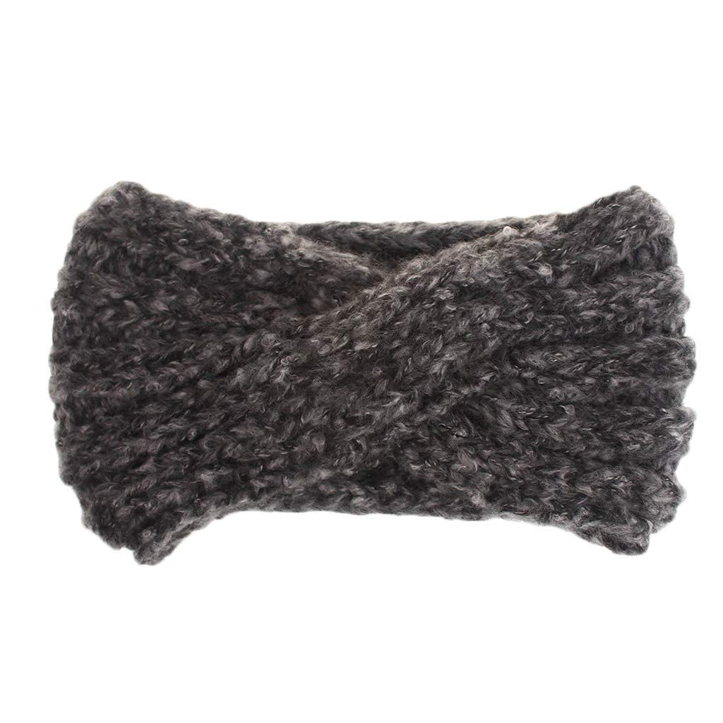 Women Turban Headband Ear...