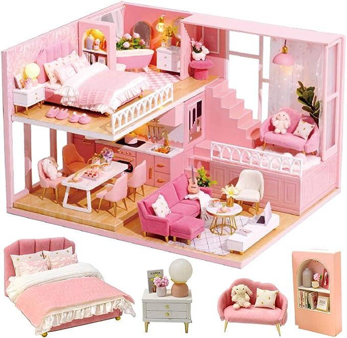 1 12 Dollhouse Miniature DIY Fitment Wooden Square Housework New Mini Windo Z4M6