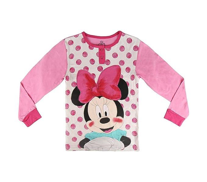 22-2293 Pijama Invierno para niñas Motivo Minnie de algodón Tallas de 3 a 7