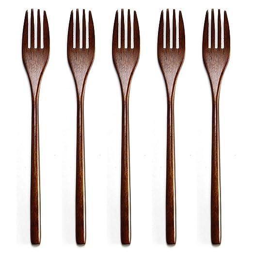 Tenedor 5 piezas para niños adultos vajilla ecológica japonesa ...