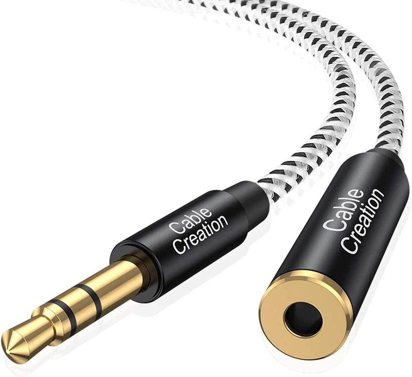 3.5mm AUX Male to Female Plug Stereo Audio Music Headphone MP3 Extension Cable
