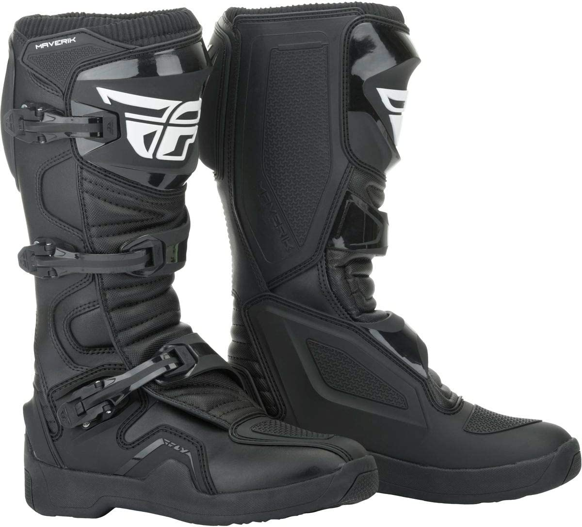 Fly Racing 2019 Maverik Boots 14 Hi-Viz//Black